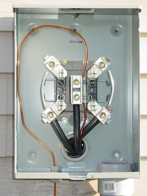 Completed Meter Socket (without meter) | chrisg583 | Flickr