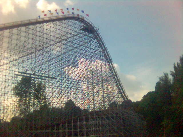 The Voyage | The Voyage roller coaster at Holiday World in ...