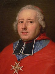 Cardinal Etienne Rene Potier De Gesvres by Pompeo-Girolamo Batoni 1758 Italy oil Detail 1 | by mharrsch