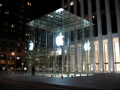 the fifth avenue apple store | by Synthesis Studios