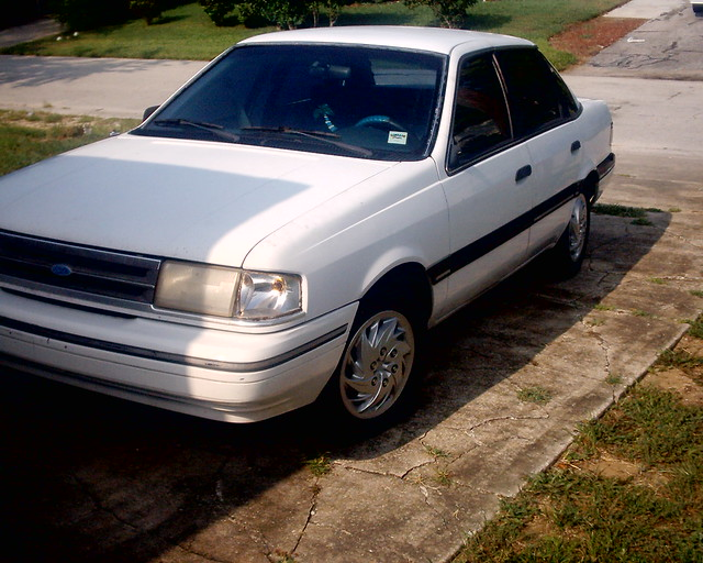pimpo my first car 1989 ford tempo gl rip kenny flickr. Black Bedroom Furniture Sets. Home Design Ideas