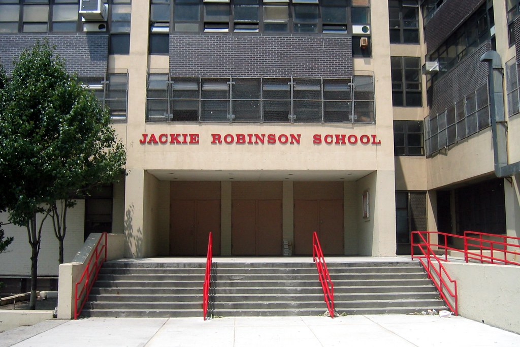 brooklyn crown heights ps  jackie robinson school flickr