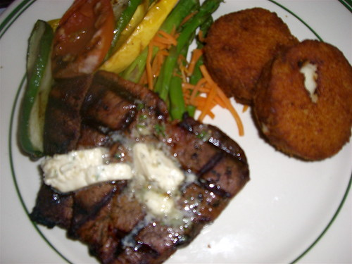 Filet Mignon with Potato Croquettes | by taminsea