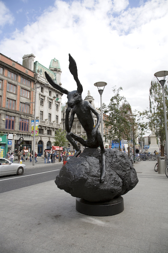 HARE IN O'CONNELL STREET