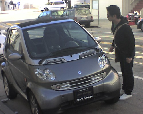 smart car spotted in north beach | by @ayn