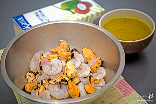 Seafood Masak Lemak Cili Padi