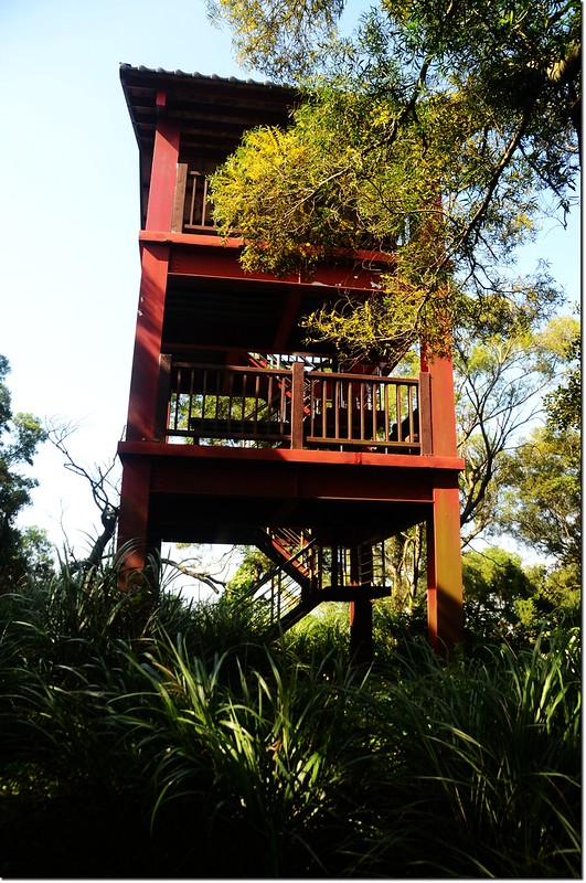 聖雲樓鋼構三層觀景台