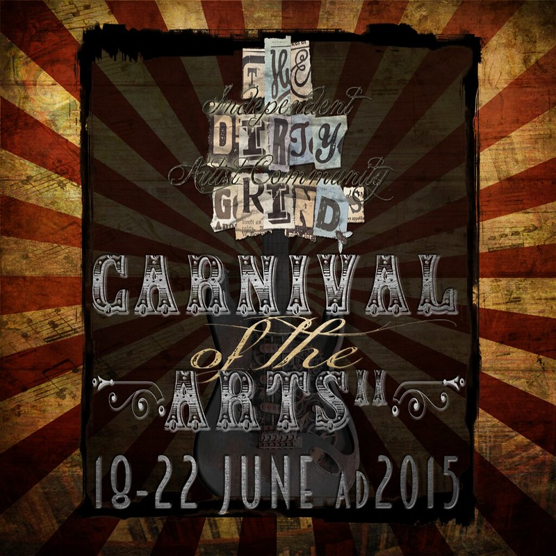 Carnival of the Arts II 18-22 june 2015 promo