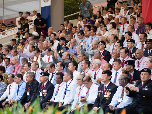 SAF Pioneers in the audience