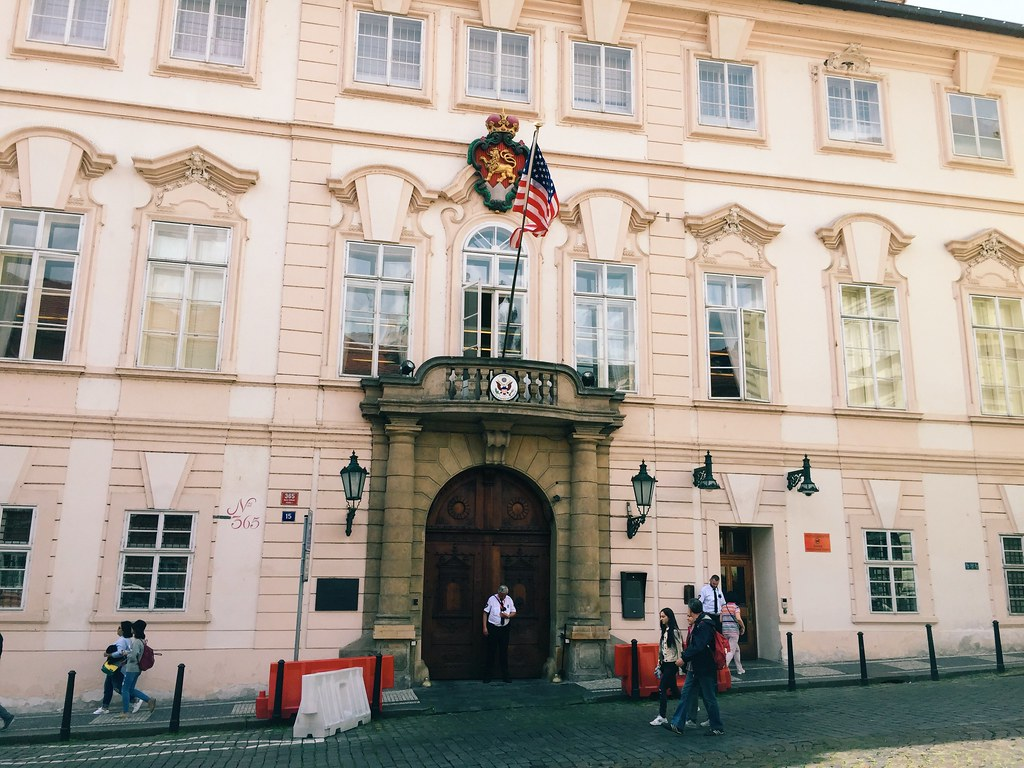 U.S. Embassy in Prague (6/22/15)