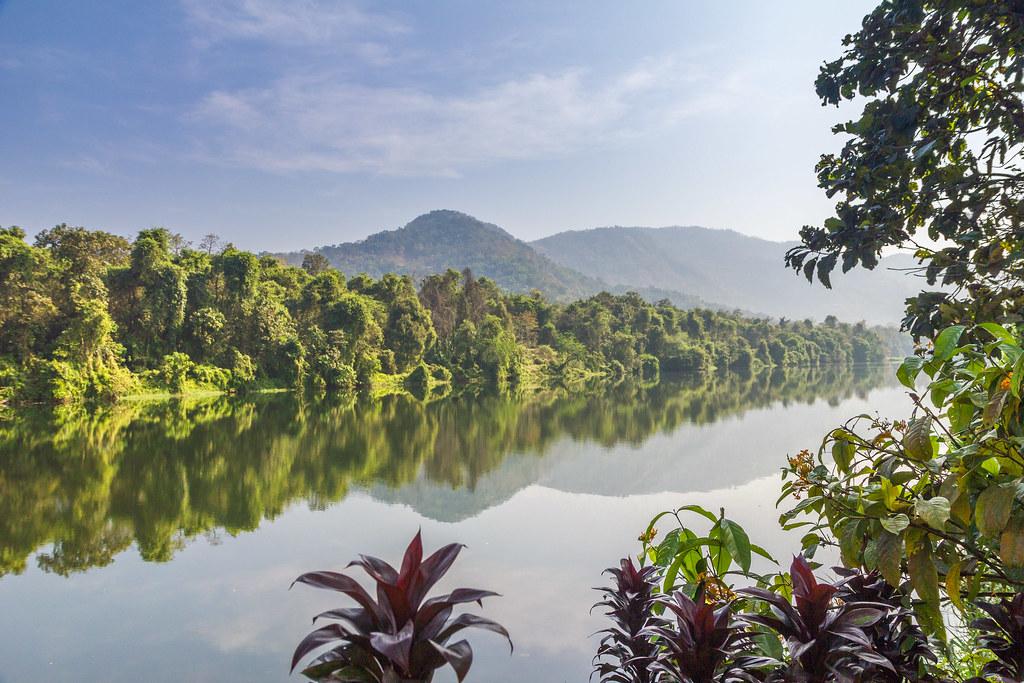 The Periyar river, Kerala