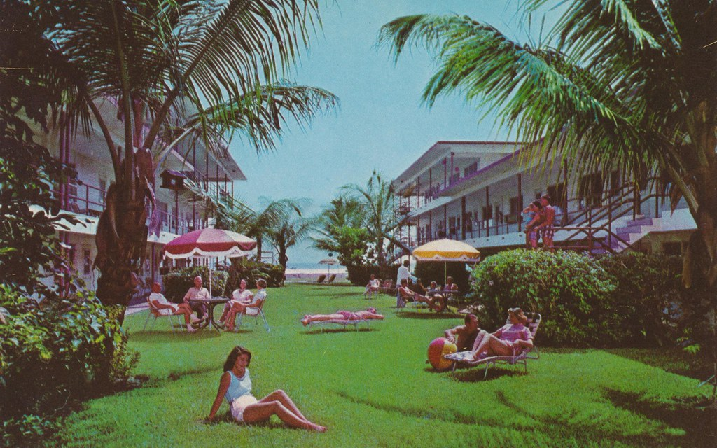 Tropic Terrace Apt. Motel - St. Petersburg, Florida