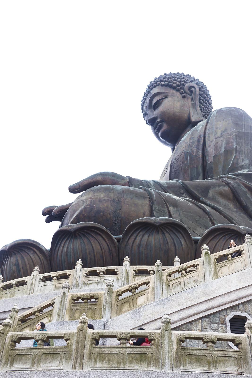 lavlilacs Hong Kong Lantau Island Ngong Ping Big Tian Tian Buddha closeup