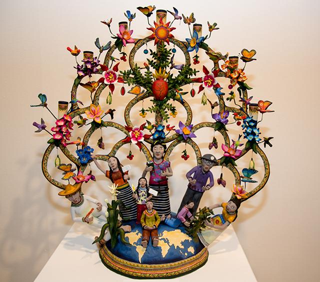 Trees of Life Exhibit by Veronica Castillo