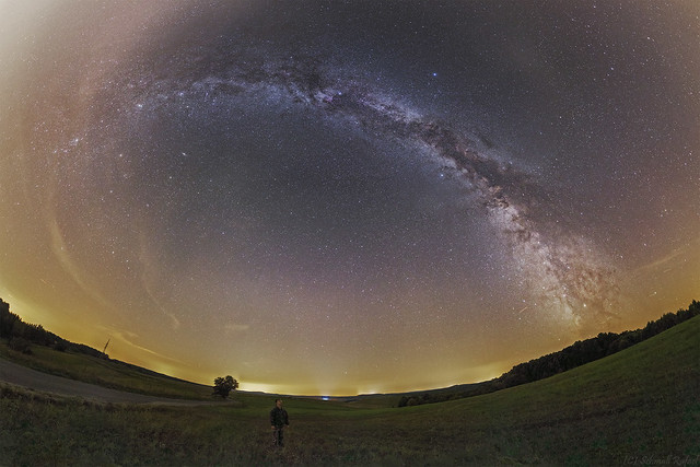 VCSE - Fulldome panorama cut from Zselic - Rafael Schmall