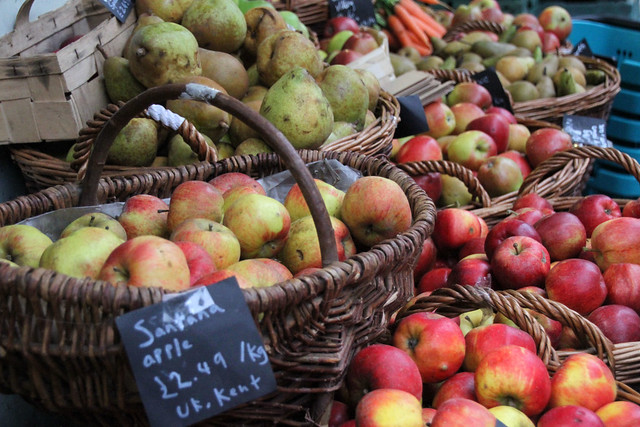 Apples at London Market