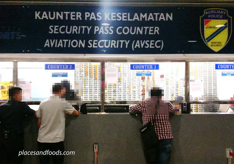 KLIA security area