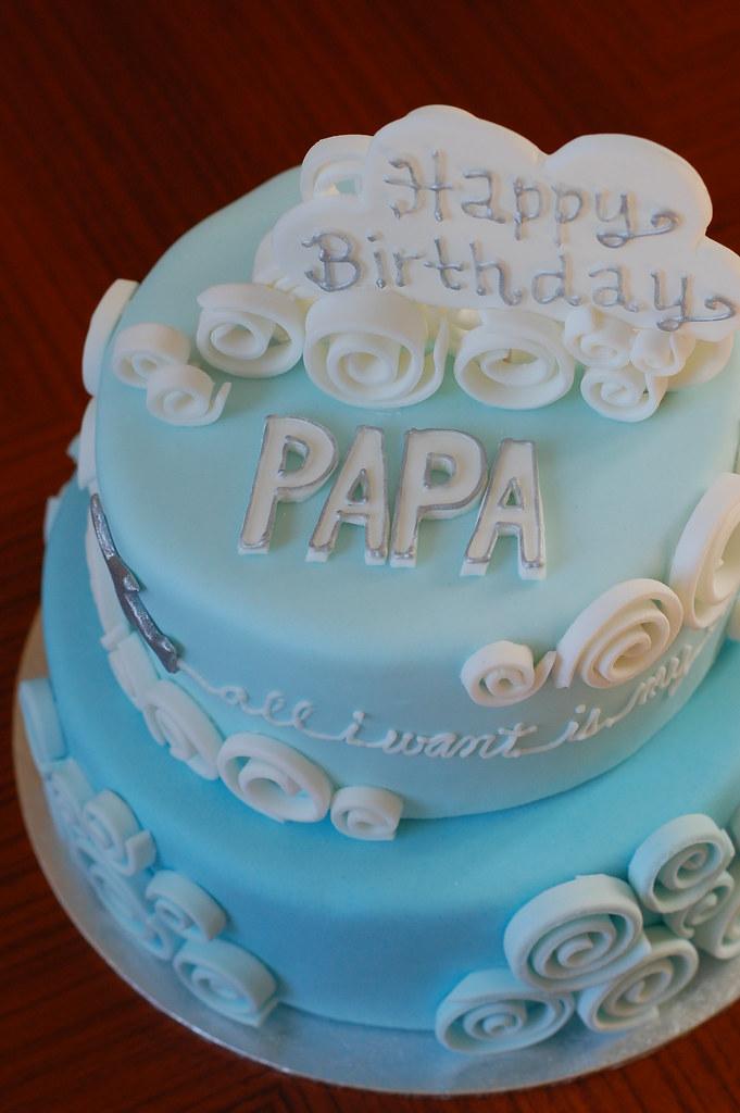 Sky Blue Cake Images : Blue Sky birthday cake CharmChang Flickr