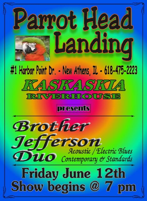 Riverhouse Bro Jefferson Duo 6-12-15