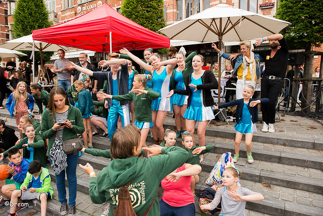 openlucht kapsalon oude markt 2015