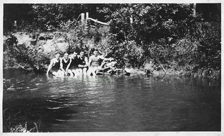 Swimming hole in Deep River