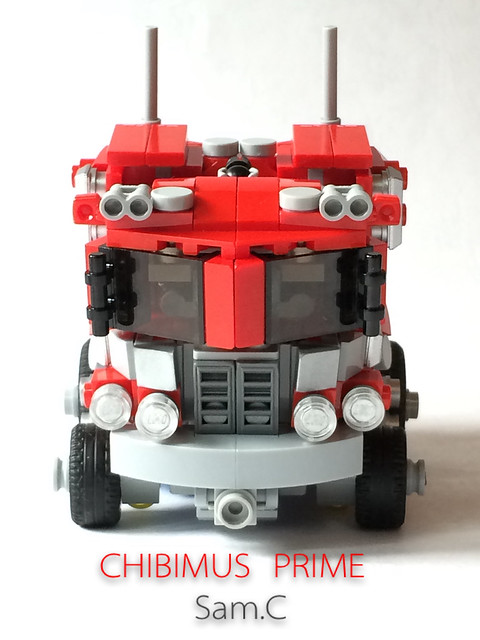 LEGO Transformers: Chibimus Prime- Truck Front