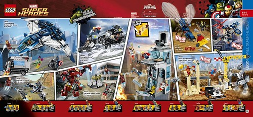 LEGO catalogue 2HY2015 Marvel SuperHeroes