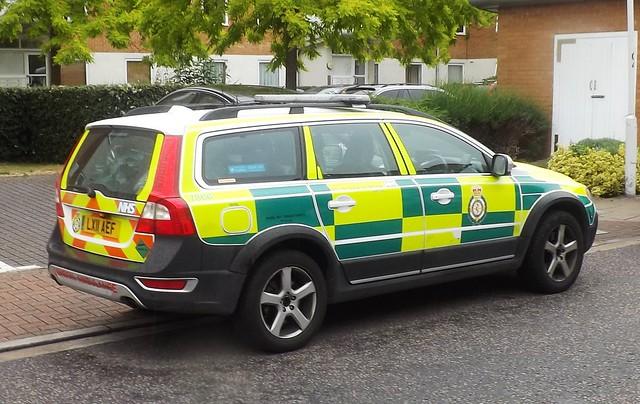 London Ambulance Service (2) @ Gallions Point 22-06-15