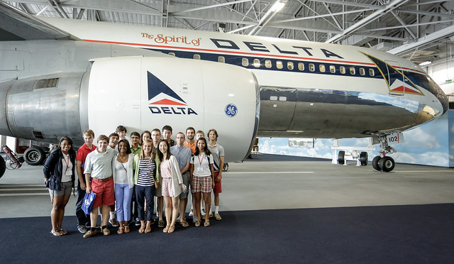 NSLC visits the Delta Flight Museum