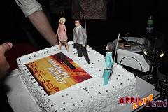 VIP-приём, посвящённый съёмкам фильма «Максимальный Удар»
