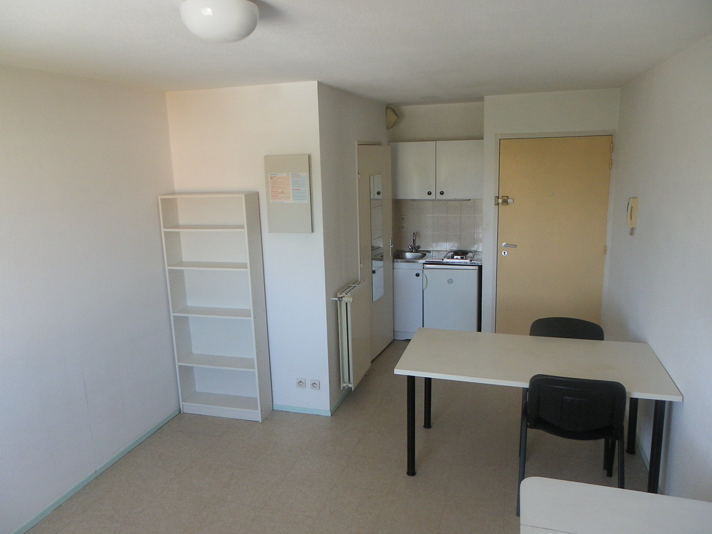 R sidence universitaire crous clairefontaine 1 m rignac for Appartement universitaire bordeaux