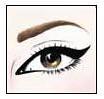 3. Cat Eyes, ojos rasgados