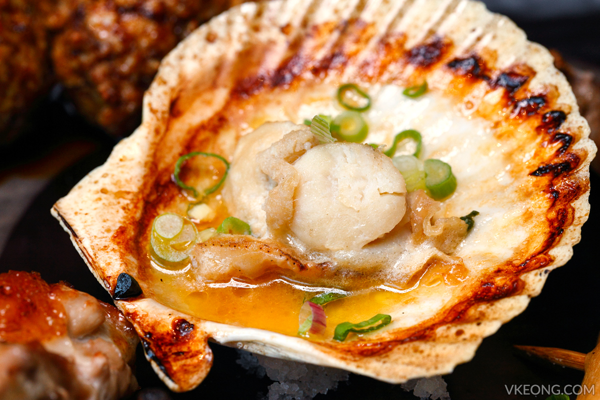 Chitose Grilled Butter Scallop
