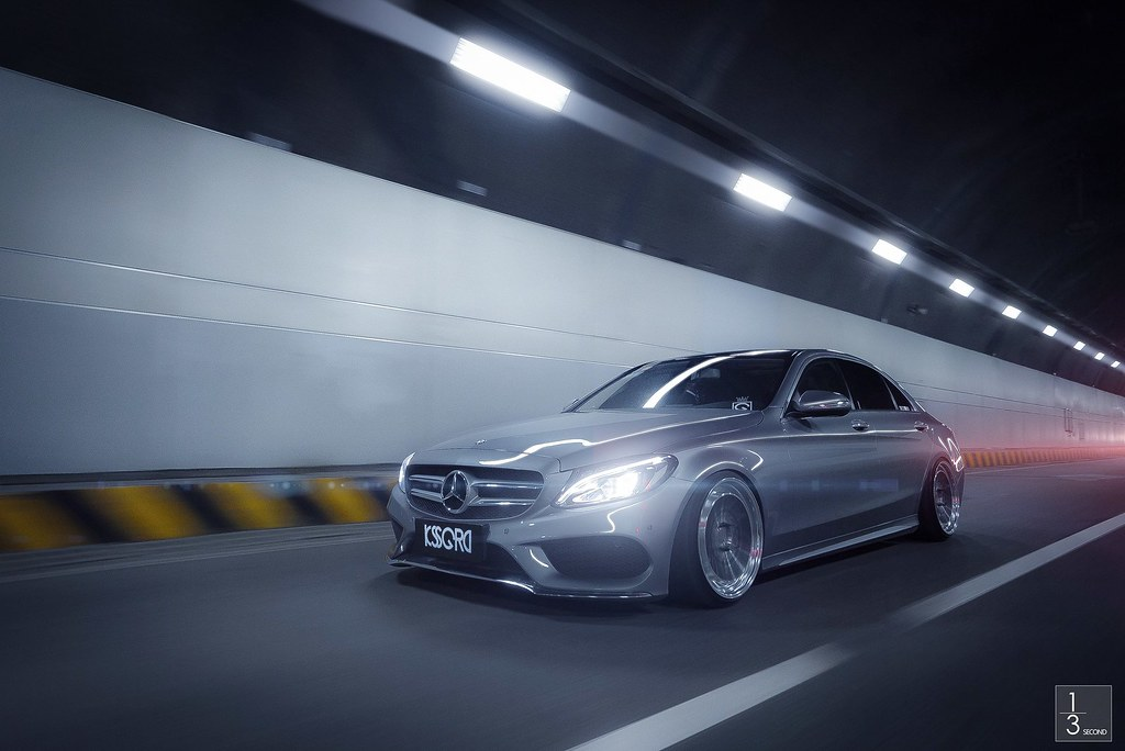 「kssgrd」mercedes Benz W205 326power Stance Instagram
