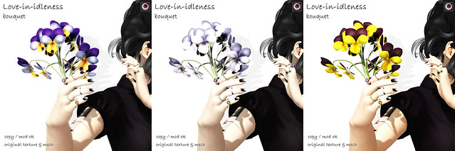 *NAMINOKE*Love-in-idleness bouquet