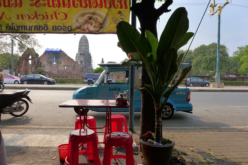 Thaïlande - Ayutthaya - 109 - Chicken noodles