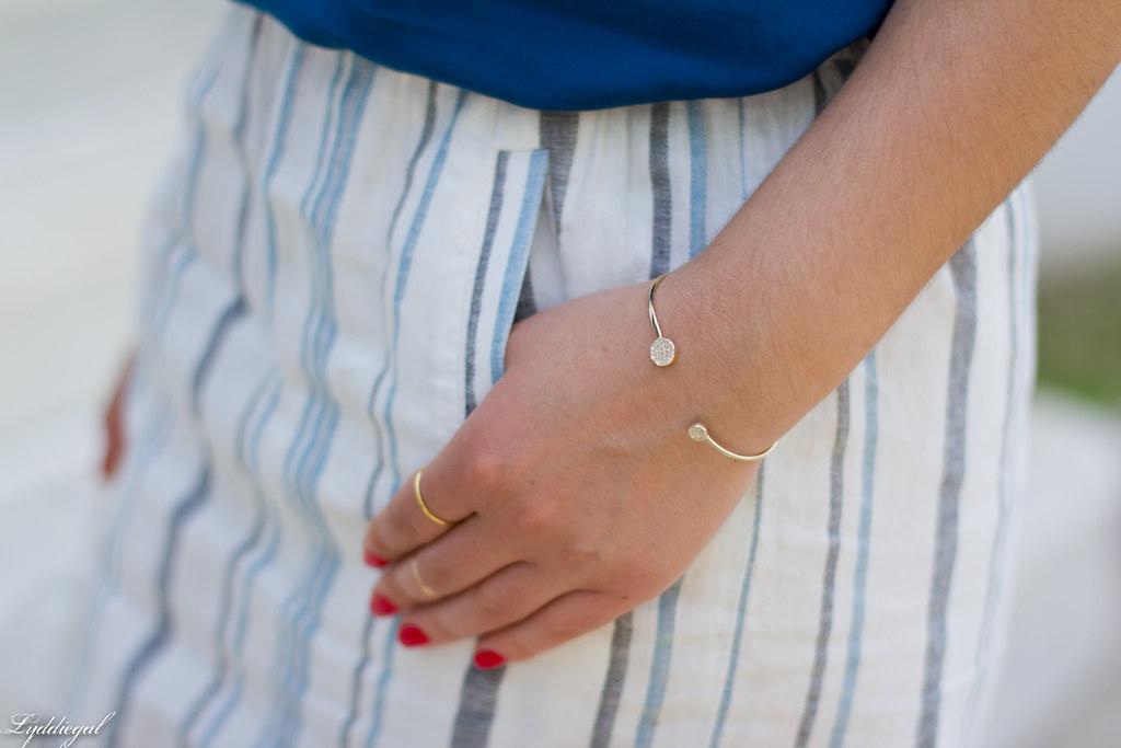 striped linen skirt, blue tank, white bag-15.jpg