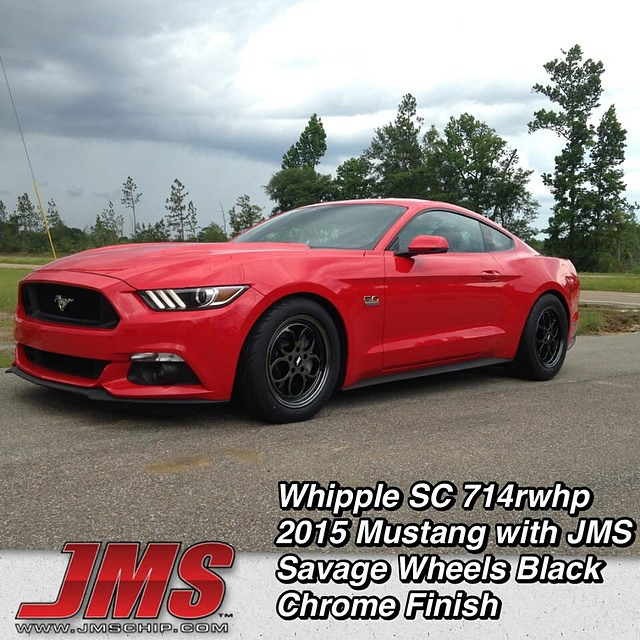 New Savage Black Chrome Wheels On A Jms Built And Tuned 20 Flickr