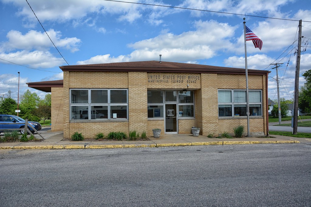 Martinsville IL Post Office