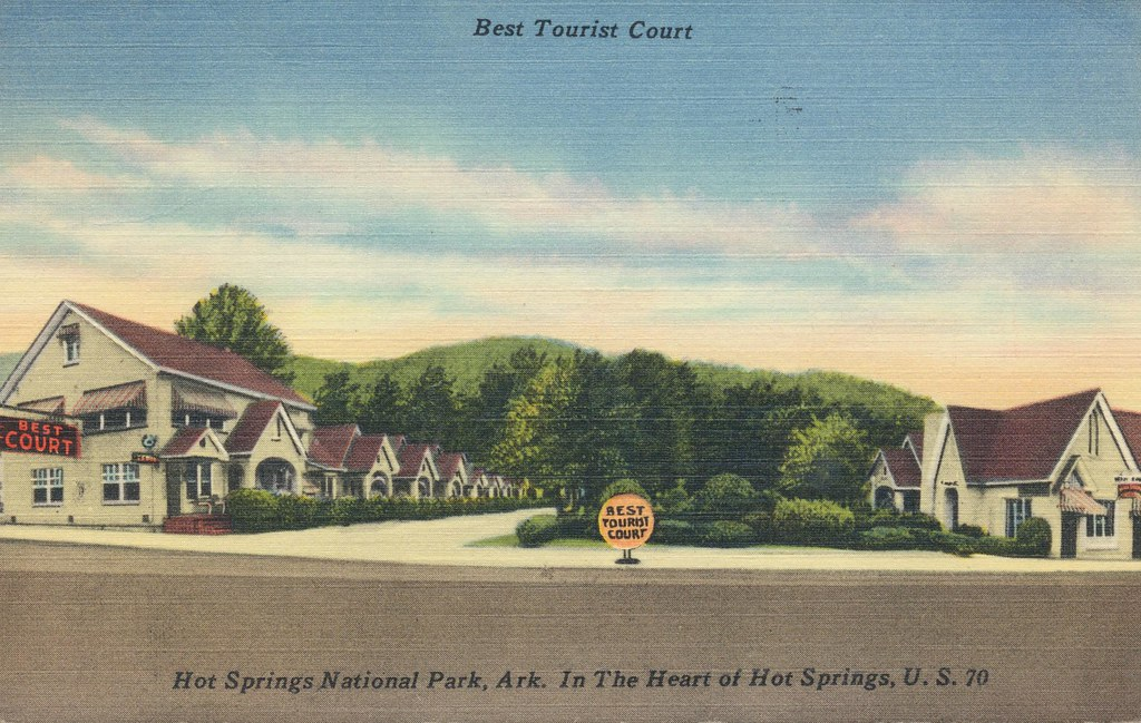 Best Tourist Court - Hot Springs National Park, Arkansas