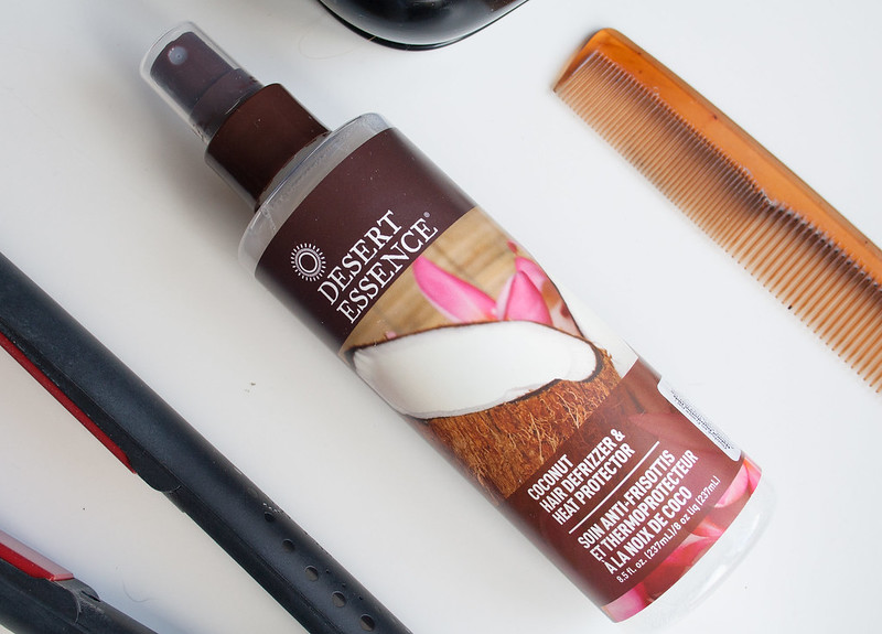 Desert Essence heat defence spray