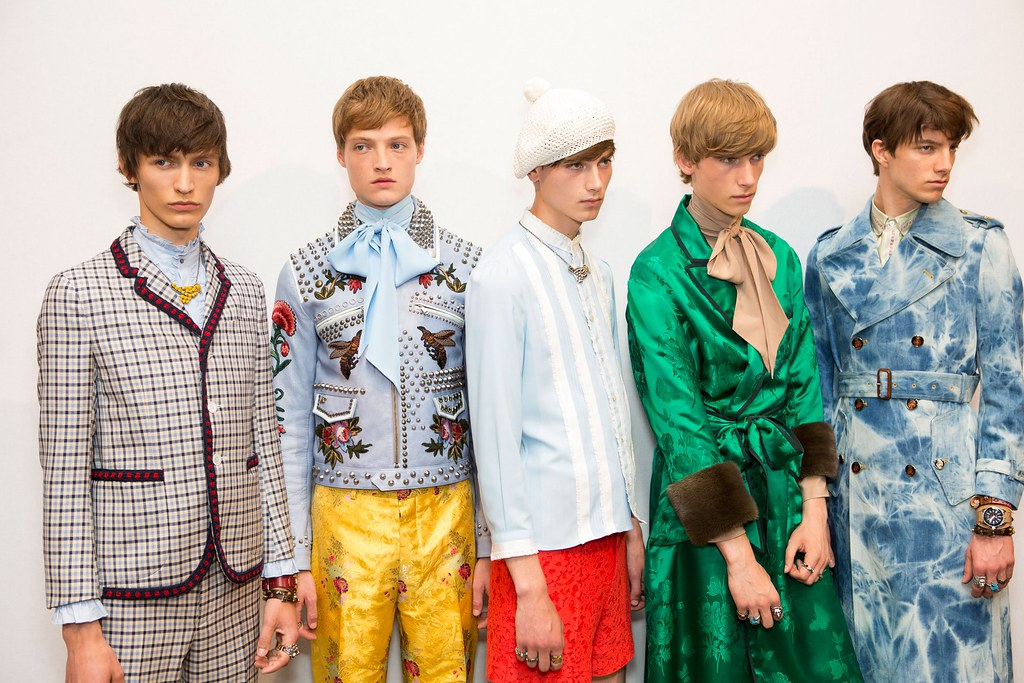 SS16 Milan Gucci238_Arnis Cielava, Dane Bell, Eduard Badaluta, Truls Martinsson, Norman Grossklaus(fashionising.com)