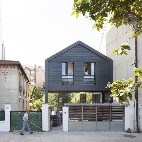 Maison individuelle djuric tardio architectes 2013 issy - Architecte grenoble maison individuelle ...