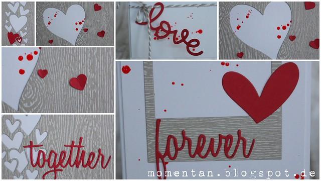 20150630 Hochzeitskarten mit Holzmaserung und Herzen