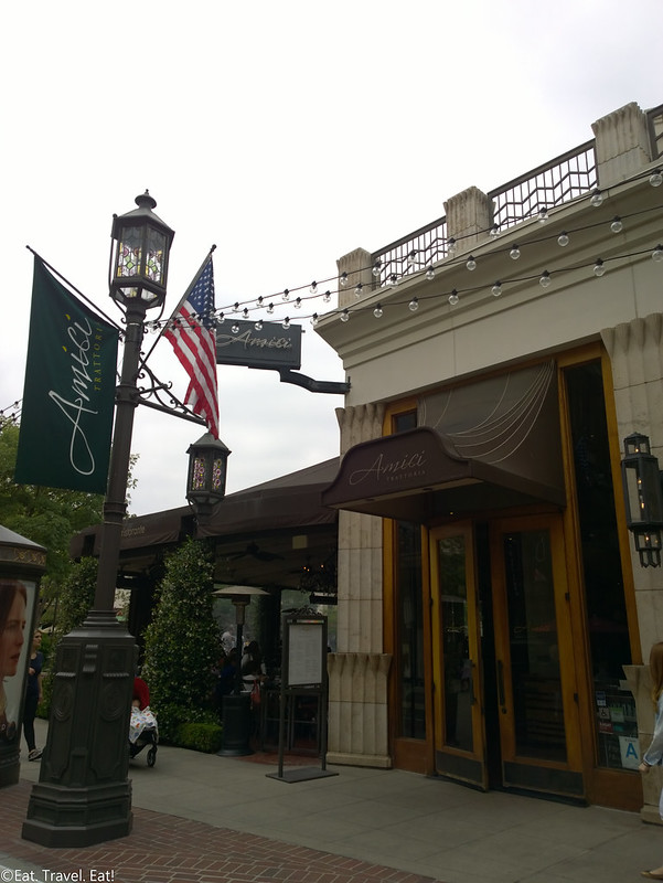 Trattoria Amici (The Americana At Brand)- Glendale, CA: Exterior