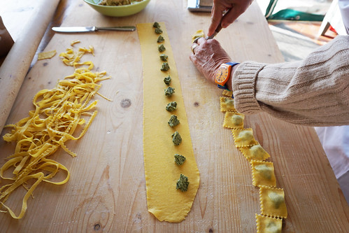 pasta-making class in rome