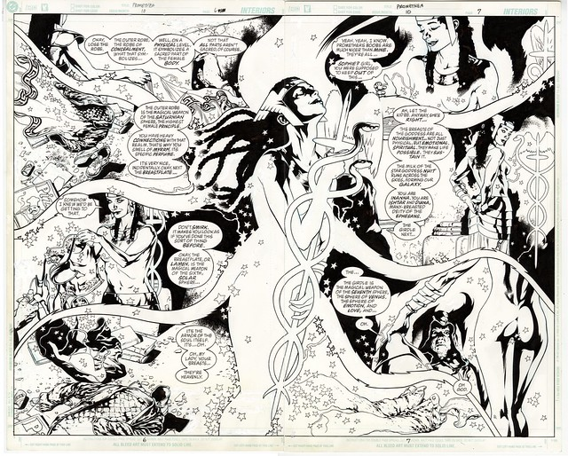 ABC IDW Artist Edition Promethea 10 pg 6 and 7