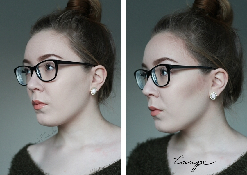 nyx taupe blush contour 2