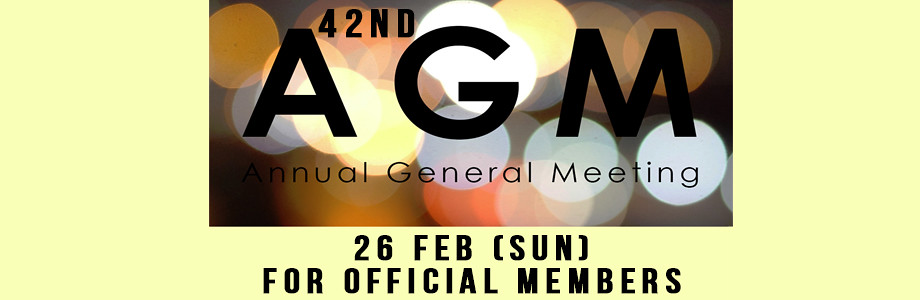 42nd AGM – Sunday, 26th February 2017