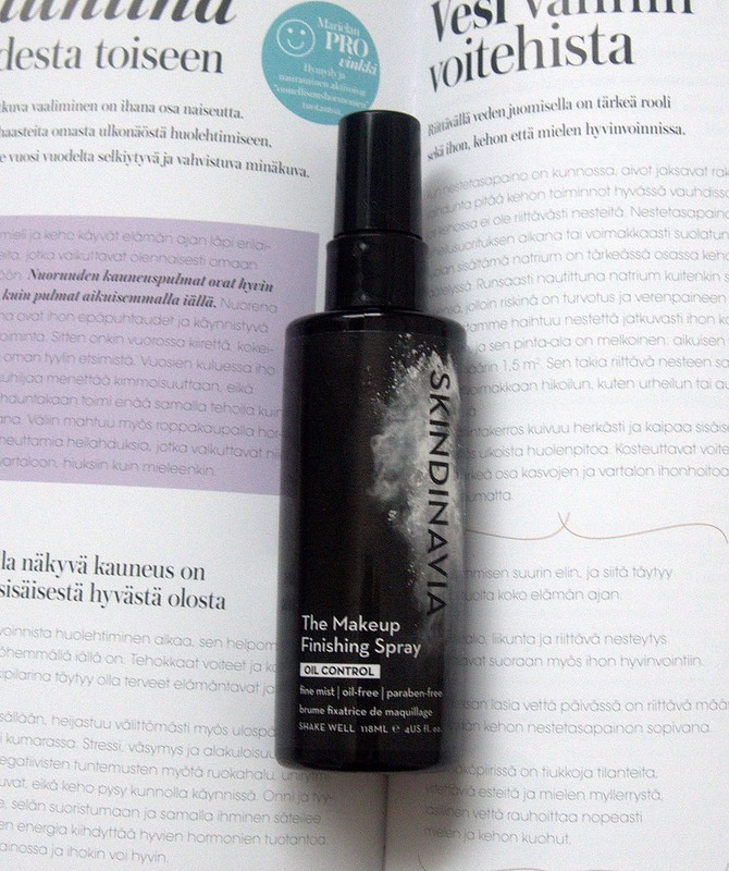 Skindinavia The Makeup Finishing Spray Oil Control